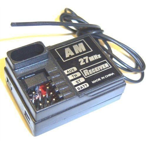 BSD B7011 Micro Mini 2 Channel AM Reciever Receiver 27mhz RC
