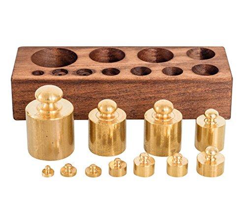 Pesos adicionales balanza de farmacia de balanza para oro estilo antiguo (d)