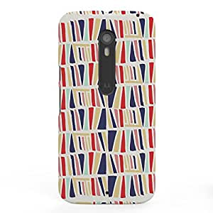Koveru Designer Printed Protective Snap-On Durable Plastic Back Shell Case Cover for Motorola Moto X Style - Abstract on wall