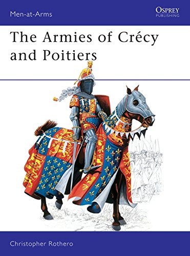 The Armies of Crécy and Poitiers (Men-at-Arms) por Christopher Rothero