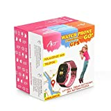 ALPEXE 67445 Smartwatch Art Watch Phone Go avec GPS Sgps-02B Rose