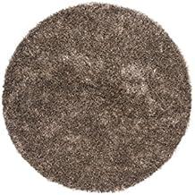 alfombras baratas diamante Topo Ø 160cm redondo de 100% poliéster hecho a mano