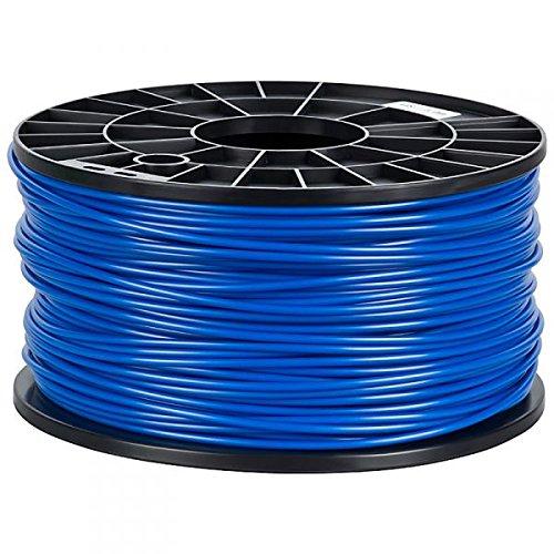NuNus ABS Filament 1kg für 3D Drucker MakerBot RepRap MakerGear Ultimaker uvm. (blau, 3,00mm)