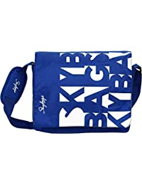 Skybags Polyester 34.5 cms Blue Messenger Bag (MBSPIBLU)