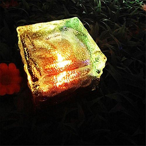 HomJo Solar LED Garden Spotlight Solar-LED begraben Licht Outdoor wasserdicht Grasland Garten Garten Garten Rasen Licht , 6