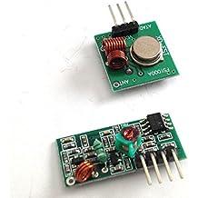 1 Receptor + 1 Emisor Arduino 433Mhz - Modulo WIRELES Wifi UNO R3 MEGA RASPBERRY