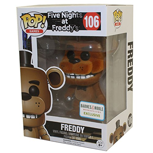 Five Nights at Freddy´s POP! Games Vinyl Figure Freddy (Flocked) 9 cm