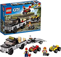 LEGO - City Atv Yarış Ekibi, Oyuncak Kamyon ve Yarış Arabası Seti (239 Parça)