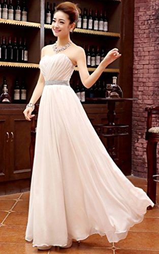 Vimans -  Vestito  - linea ad a - Donna Light champagne