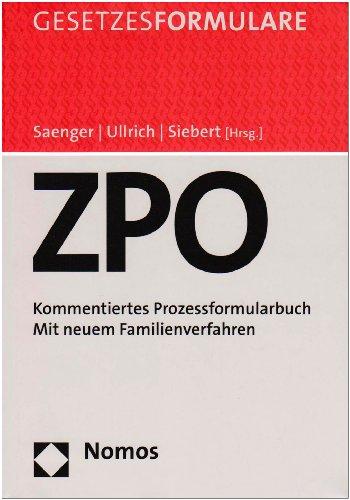 ZPO-Handkommentar + ZPO-Formularbuch