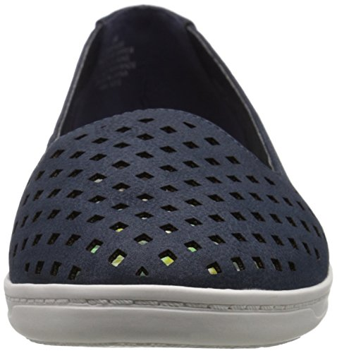 Easy Spirit Dexlee Large Synthétique Chaussure Plate Navy