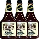 Mississippi Barbecue Sauce 'Original' 3 x 1560ml (Grill-Sauce)