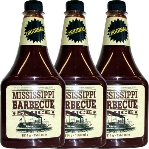 Mississippi – BBQ-Sauce Original – 1814g