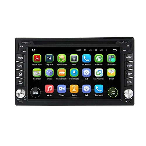 6.2 Zoll 2 Din Android 5.1.1 Lollipop OS Autoradio für Nissan Sentra 2007 2008 2009 2010 2011,DAB+ radio kapazitiver Touchscreen mit Quad Core 1.6G Cortex A9 CPU 16G Flash und 1G DDR3 RAM GPS Navi Radio DVD Player 3G/WIFI Aux Input OBD2 USB/SD DVR (Nissan Sentra-touch-screen)