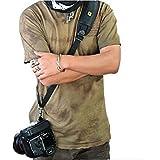 Nicad Camera Strap Belt Quick Rapid Shoulder Sling Neck For Camera DSLR Canon Nikon Pentax Olympus Sony SLR Cameras (Black)