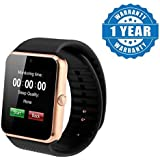 Padraig GT08 with Camera,Touch Screen, Bluetooth, Support SIM Card, SD Card Smartwatch, (Gold)