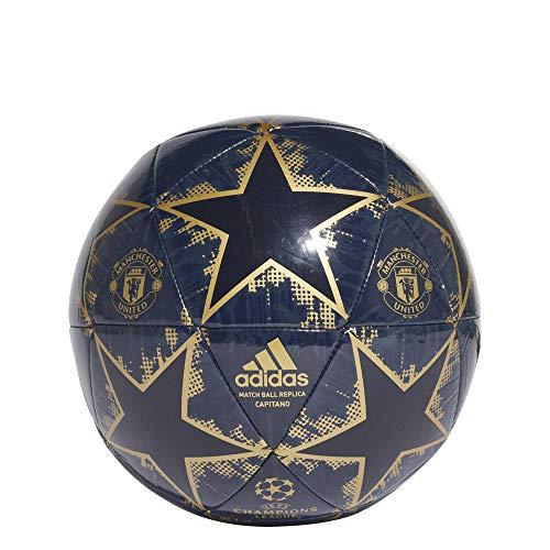 adidas Men s Finale 18 Manchester United Capitano Football, Collegiate  Matte Gold Night Navy, 4b1fc024b0f