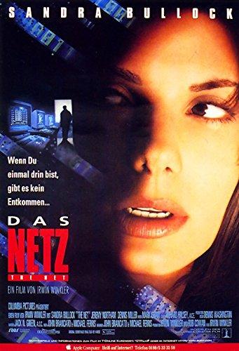 Das Netz (1995) | original Filmplakat, Poster [Din A1, 59 x 84 cm]