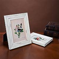 Marco creativo de la foto de la resina fijado 6 pulgadas 7 pulgadas marco retro blanco