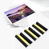 Colorty KP-108IN 3 x Tinta y 108 hojas de papel Compatible con impresoras fotográficas de la gama Canon Selphy 100 x 148 mm Tamaño postal CP780 CP790 CP800 CP810 CP820 CP900 CP910 CP1000 CP1200 CP1300