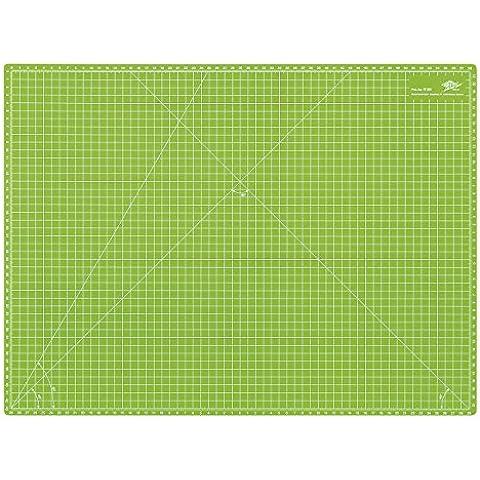 Wedo 079260 Cutting Mat CM60 Tappetino da Taglio da 600x450x3 mm, Verde - Mat Piano