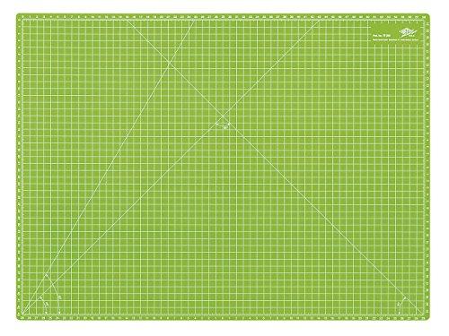 Wedo 079260 Cutting Mat CM60 Tappetino da Taglio da 600x450x3 mm, Verde