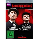 Sherlock Holmes, Vol. 1 (Sir Arthur Conan Doyle's Sherlock Holmes) / 2 Folgen der legendären Krimierie mit Peter Cushing