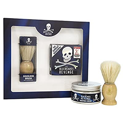 The Bluebeards Revenge Shaving Cream and Doubloon Brush Kit