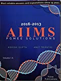 AIIMS PGMEE SOLUTIONS VOL-1A VOL-1B (2016-2013)