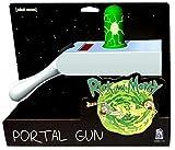 Rick et Morty Replica Portal Gun avec Projection 23,5x14,5x7,5cm Gris Vert