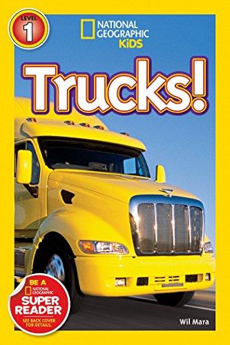National Geographic Kids Readers: Trucks (National Geographic Kids Readers: Level 1)