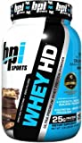 Whey-HD - 907 grams whey protein mass growth muscle gain bodybuilding mass building muscle growth by BPI Sports M