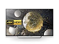 Sony Bravia KD49XD7005 Android 4K HDR Ultra HD Smart TV with Youview, Freeview HD, PlayStation Now - Black