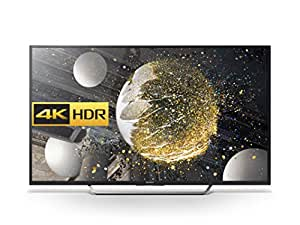 Sony Bravia KD55XD7005 55 inch Android 4K HDR Ultra HD Smart TV with Youview, Freeview HD, PlayStation Now (2016 Model) - Black