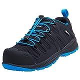 Helly Hansen 78218_ 995-43Flint Low WW Safety Footwear Size 43Black/Blue