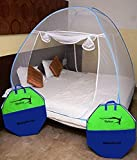 #8: Styleys Foldable Mosquito Net for King Size Double Bed (Blue)