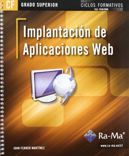 Implantación de aplicaciones web (GRADO SUPERIOR)