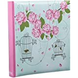 Arpan 5 x 7'' Large Vintage Rose Cage Shabby Chic Style Memo Photo Album for 200 Photos by ARPAN