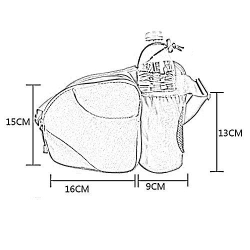 ZHANGRONG- Outdoor-Wasserkochtaschen Lauftaschen Multifunktionale Ausrüstung Bergsteigen wasserdichte Fahrt Taschen (Mehrfache Farben vorhanden) 1