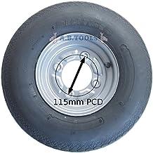 AB Tools Remolque de neumático y llanta 4.00-8 6 PLY 115mm PCD Erde DAXARA
