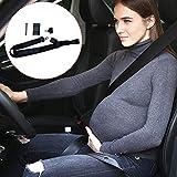Cinturón para embarazada de seguridad en el coche que protege al bebé y la mamá evitando el riesgo Cinturón de Seguridad Ajustable Cinturón de Seguridad para Mujer Embarazada Seguridad del Cinturón Pr