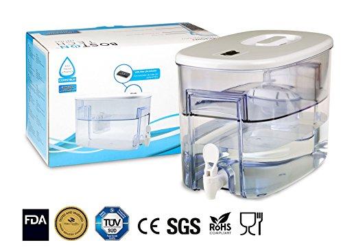 Boston Tech Fresia, dispensador de Agua Filtrada Compatible con filtros Brita Maxtra, Maxtra Plus 9 litros. Un Filtro de Regalo