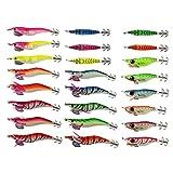 On Sale 24pcs leurre dur pêche squid jig