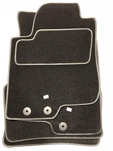 Haute Qualit/é voiture tapis tapis de sol en velours et cuir synth/étique