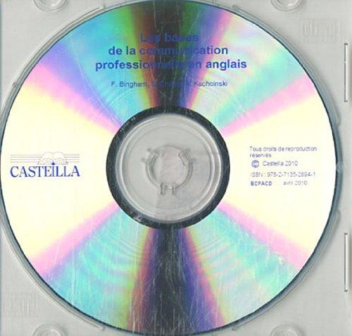 Les bases de la communication professionnelle en anglais : CD-ROM