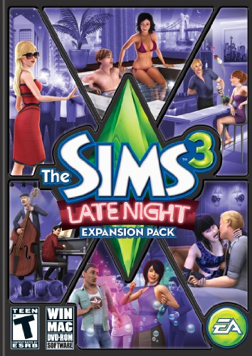 The Sims 3: Late Night - PC/Mac by Electronic Arts (Late Night Sims)
