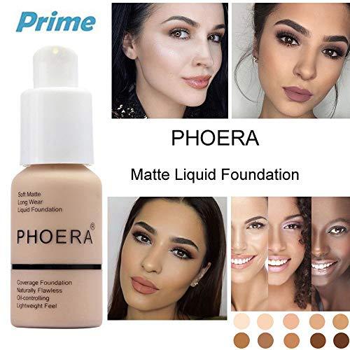Phoera Maquillaje Correctores Líquido Ojeras Acnés