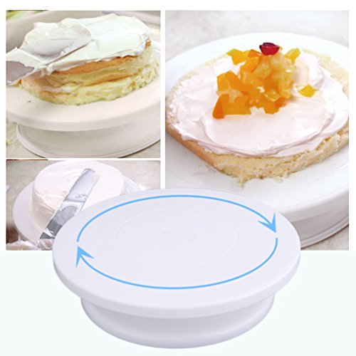 Gugutogo Cake Decoration Turntable Practical Table Rotating Disc Non-Slip Baking Tool