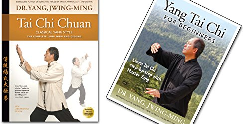 Bundle: Yang Tai Chi Anfänger Übungs-DVD und Buch (ymaa Tai Chi Fitness) Dr. Yang, jwing-ming Lernen Sie Chinesisch Dvd