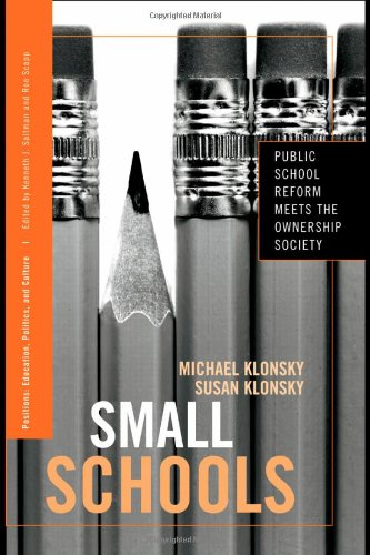 Small Schools: Public School Reform Meets the Ownership Society (Positions: Education, Politics, and Culture)